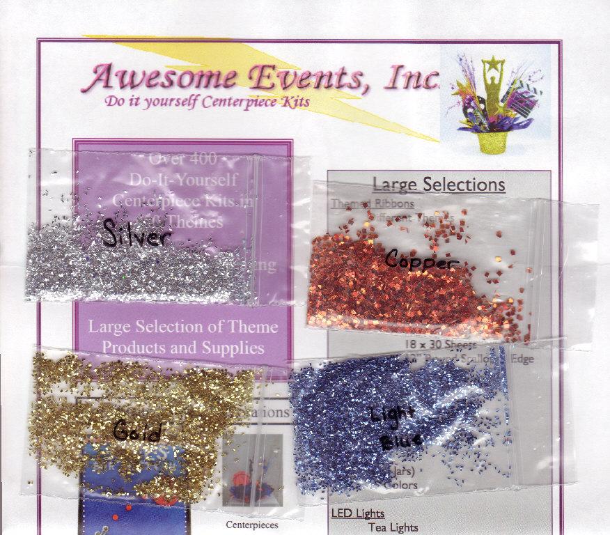 Free glitter samples