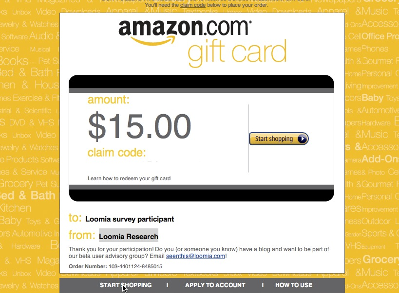 15 Dollar Amazon Gift Code Free Stuff Times What I Got