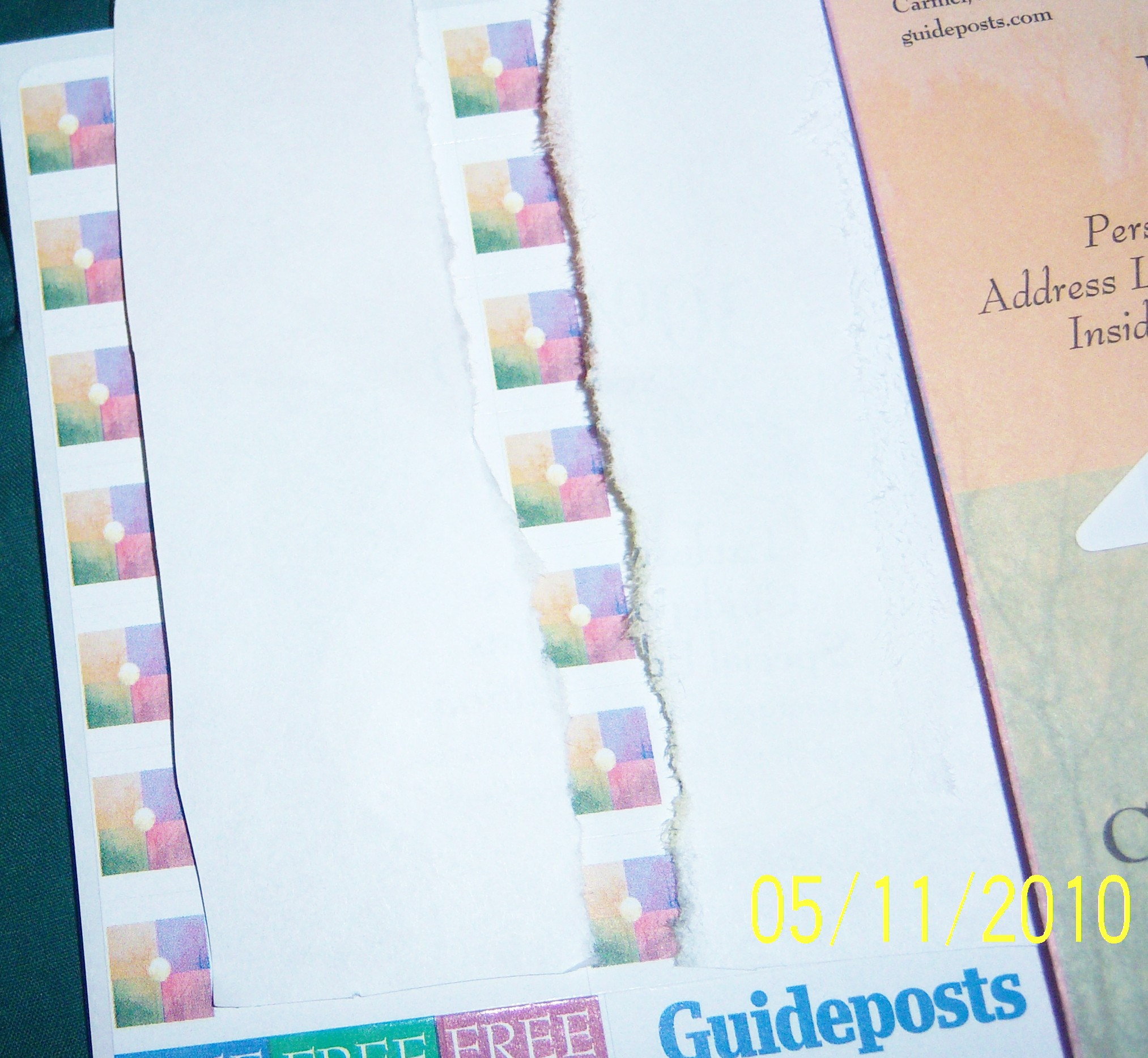 Address Labels From GuidePosts • Free Stuff Times What I Got