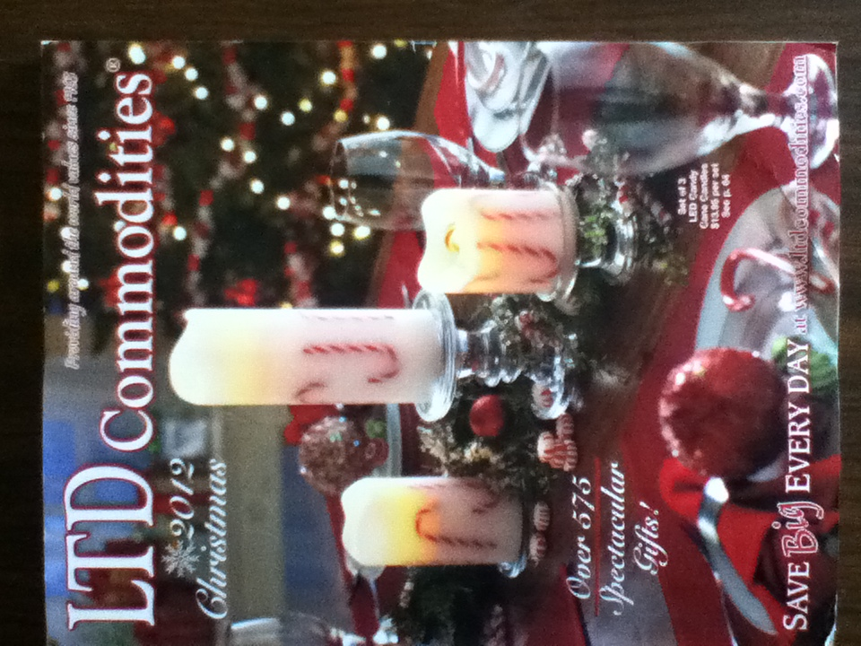 Ltd Christmas Catalog.Chirardelli Ltd Commodities 2012 Christmas Catalog And