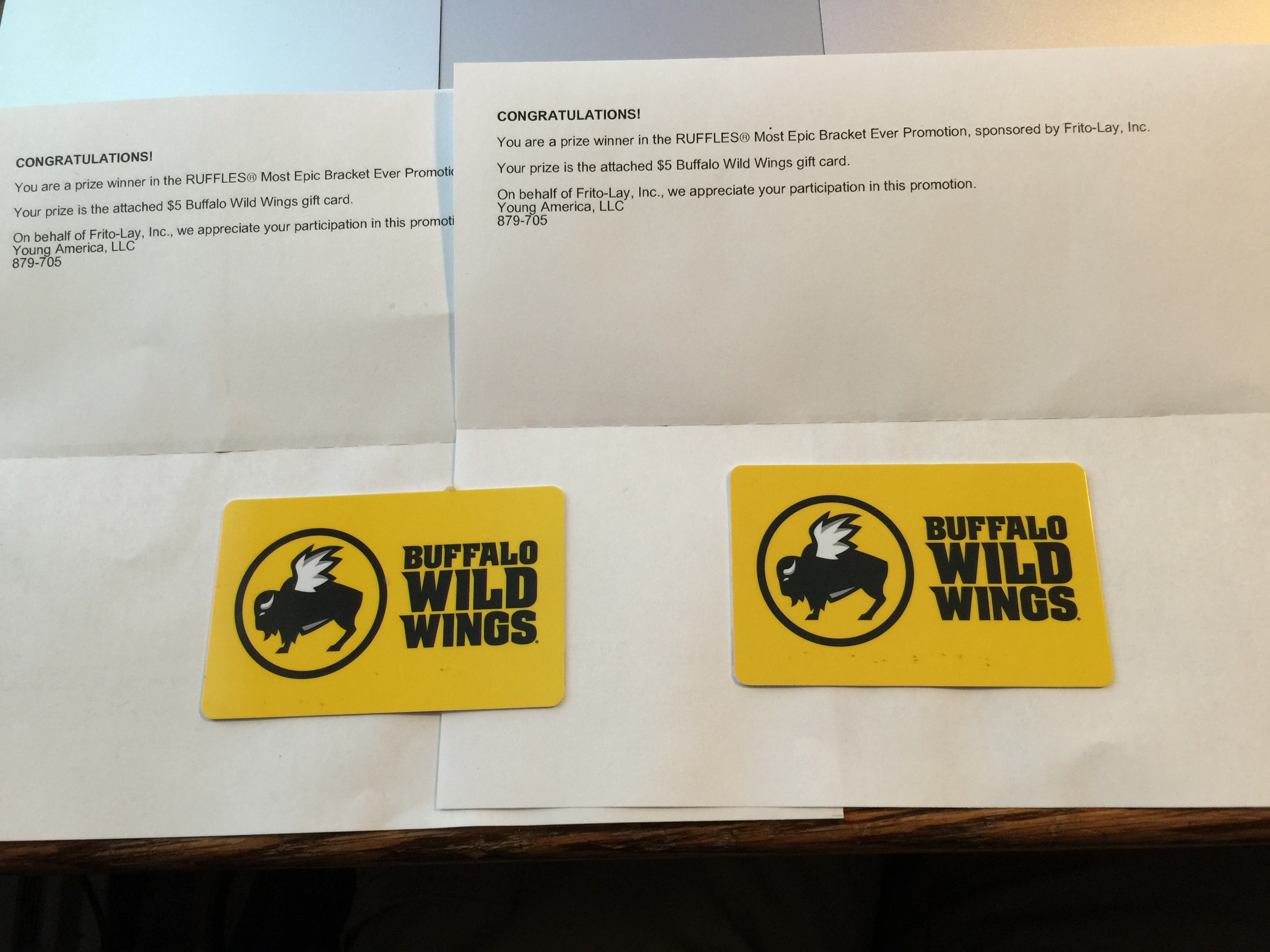 buffalo wild wings gift card promotion 10 buffalo wild wings gift card win 1347