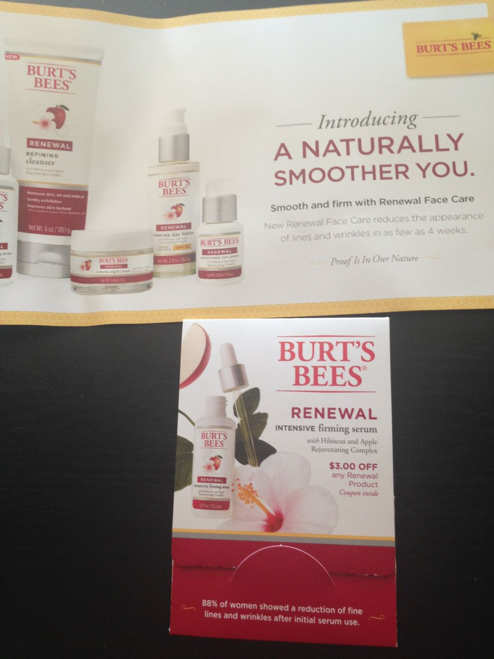 Popular Mechanics Sweepstakes >> Burt's Bees serum sample • Free Stuff Times What I Got