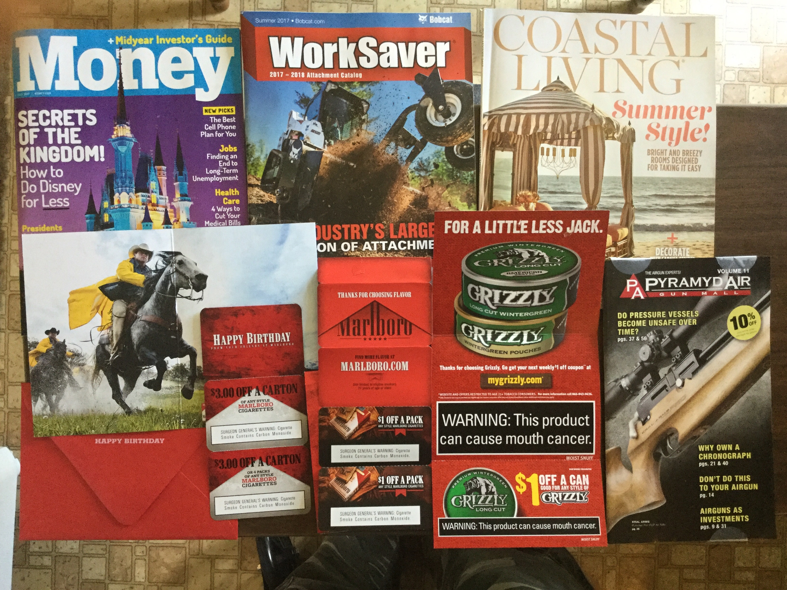 6-14-2017 Free Mail 💰Money 🚜 WorkSaver 🏖Coastal Living ...
