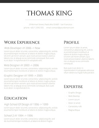 Creative, innovative and enthusiastic office clerk with the excellent speed in typing. Resume Templates For 2021 Free Download Freesumes