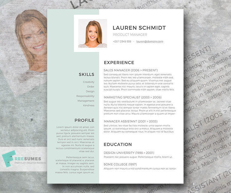 With adobe spark, choose from dozens of resume templates online to help you easily create your own. Free Light Grayish Green Resume Template Freesumes