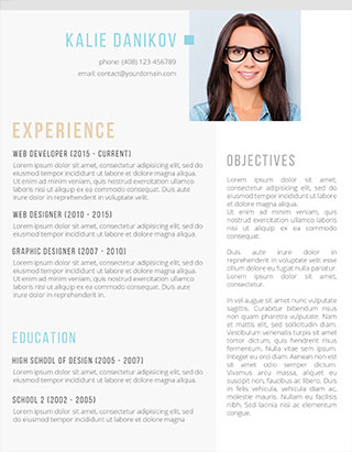 Don't call yourself 'people person', or any of these other things for that matter. Resume Templates For 2021 Free Download Freesumes