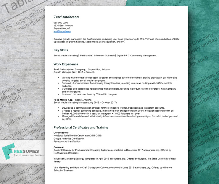 Bachelor of arts in political science. Resume With No College Degree Example Writing Tips Freesumes