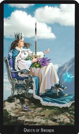 Resultado de imagem para queen swords tarot