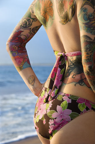 The most popular tattoo designs for women include butterfly tattoos, tribal