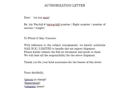 Authorization letter to get something pdf example of claim money feel free to download our modern editable and targeted templates cover letter templates resume templates business flashek Images