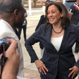 @kamalaharris pulled up at #blackexpo here in Charleston in Full …
