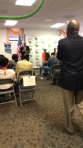 Senator Cory Booker answers an audience question about his possible future tax p…