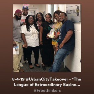 "#UrbanCityTakeover ""The League of Extraordinary Business Owners"" is Live!  #Free…"