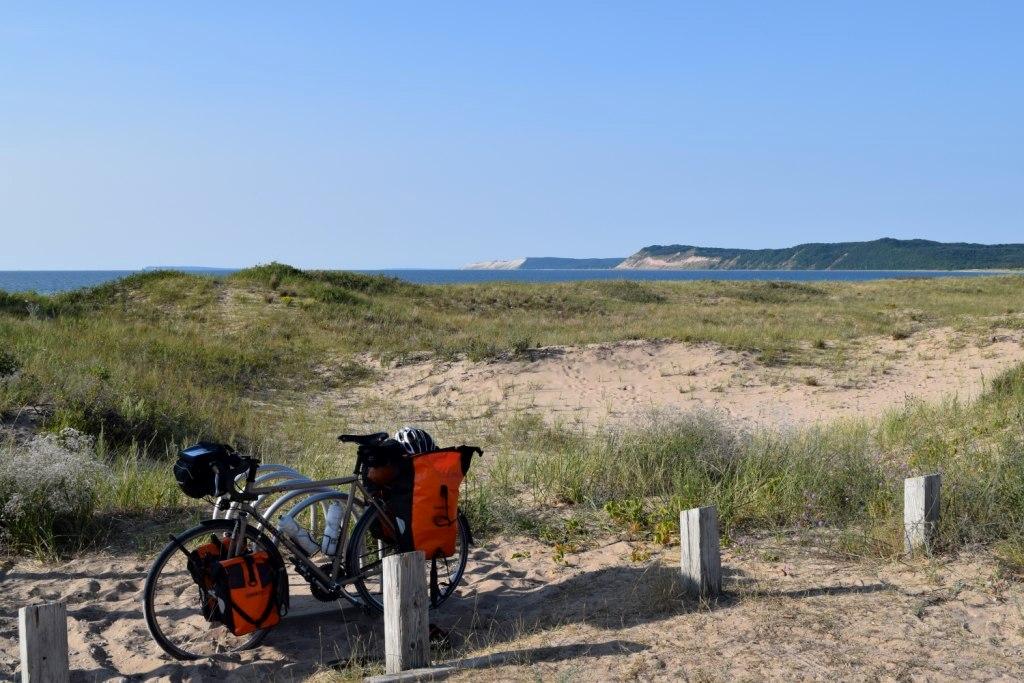 Along Sleeping Bear Dunes National Lakeshore