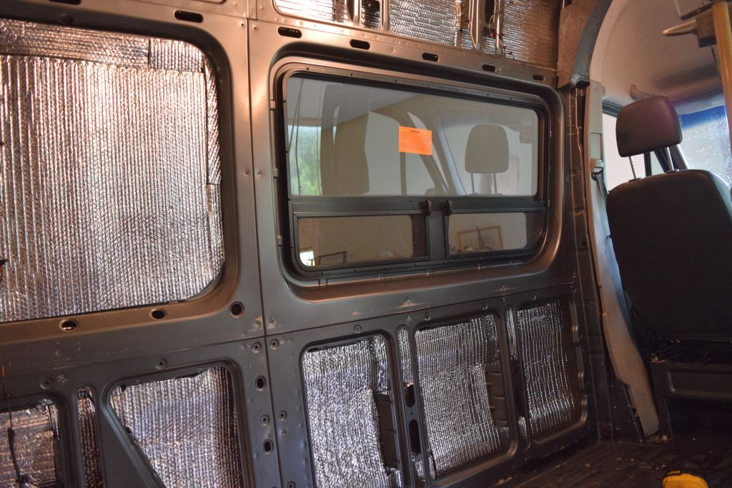 Driver's side window installed