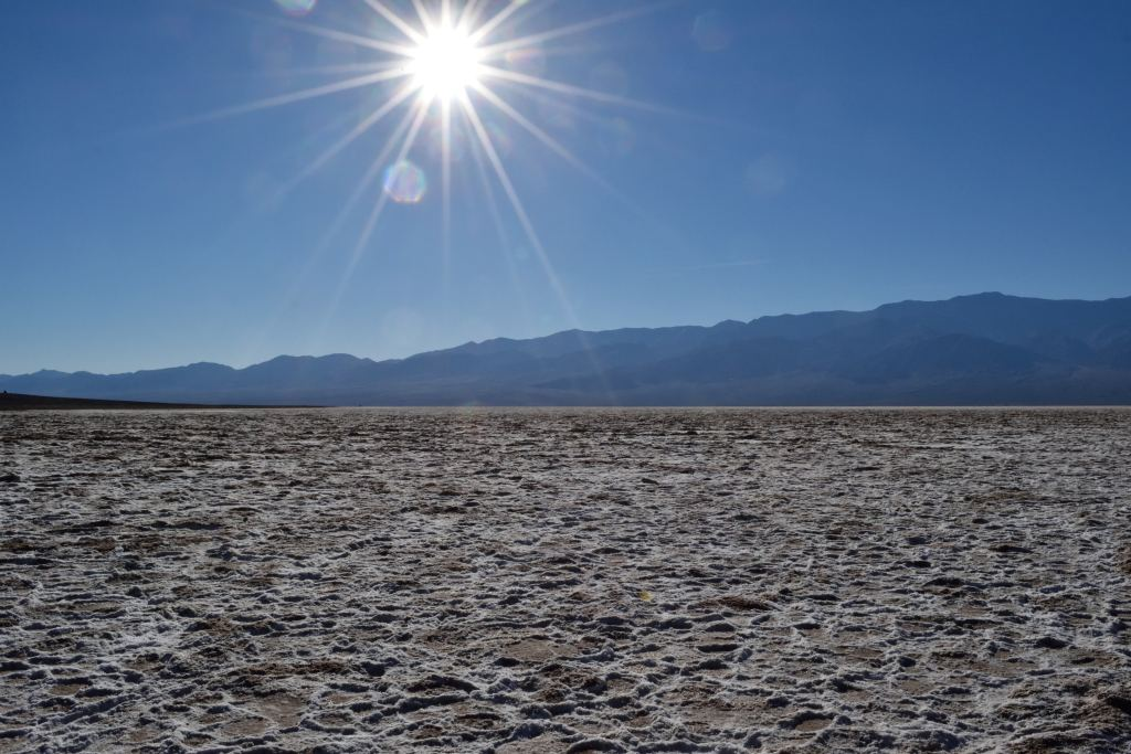 Badwater Basin, lowest point in the U.S.