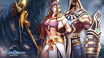 Gods Origin Online - Um RPG gratuito do VivaGames, baseado no navegador, no qual os jogadores assumem o papel de convocadores humanos que chamam deidades do Reino Astral no tempo.