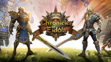 Chronicles of Eidola - Um RPG de navegador 3D gratuito da AMZGame.