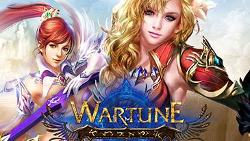 Wartune - Um MMORPG de estratégia em 2D baseado em navegador, com recursos clássicos de RPG por turno.