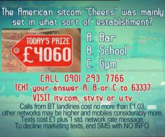 Tuesday's Real Deal competition question and free entry with ITV, STV or UTV. 16 July 2013