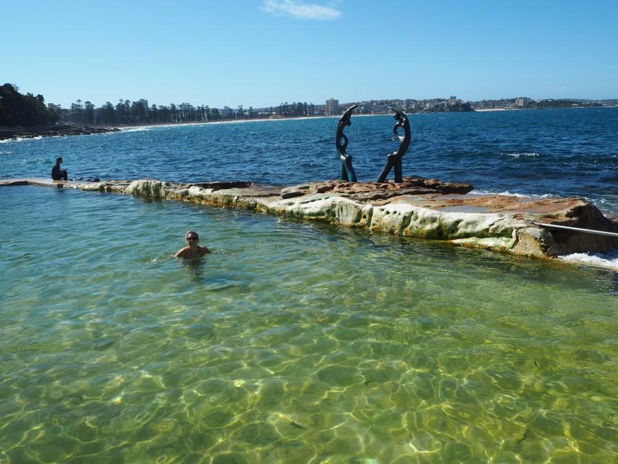 Shelley beach natural rock pool