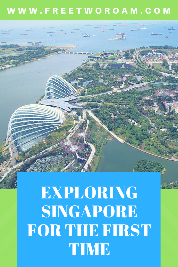 Exploring Singapore for the first time