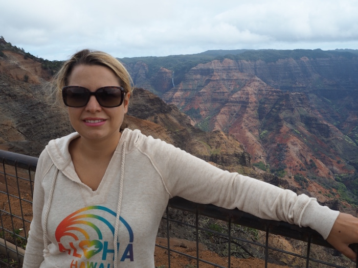 View from the Waimea Canyon lookout