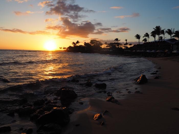 Sunset at the Beachhouse