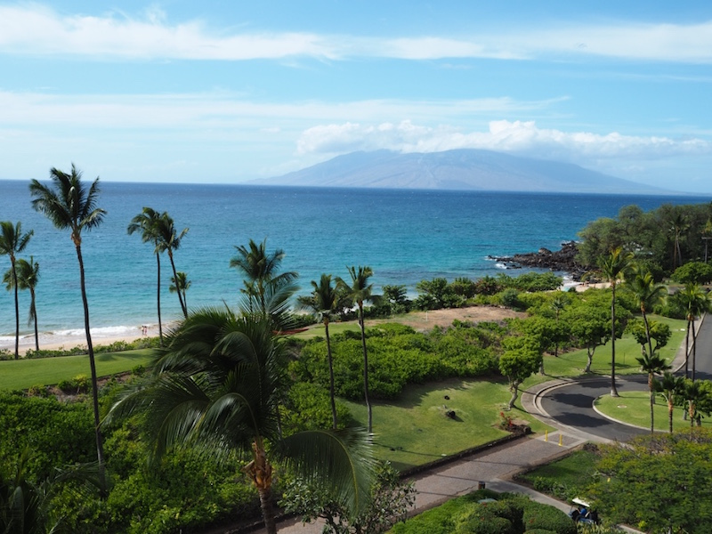 View from the Makena Beach Resort