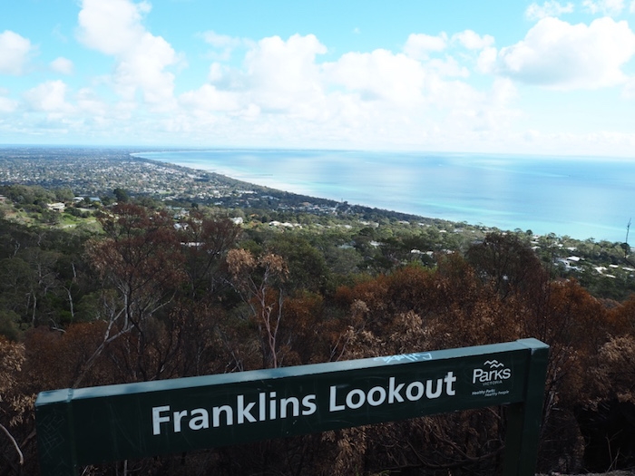 View from Franklin's lookout