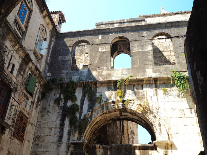Ruins of the palace