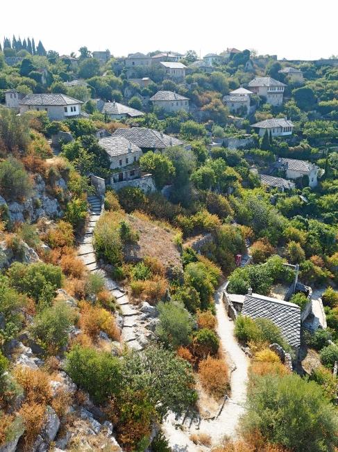 Beautiful countryside surrounding Pocitelj