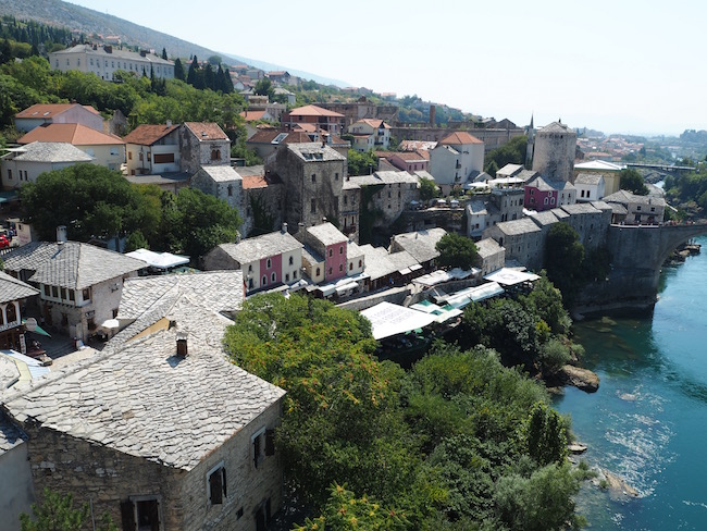 The old town of Mostar