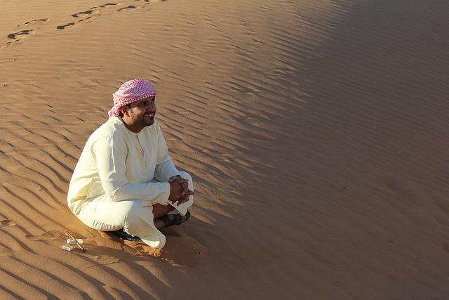 A friendly local, Oman.