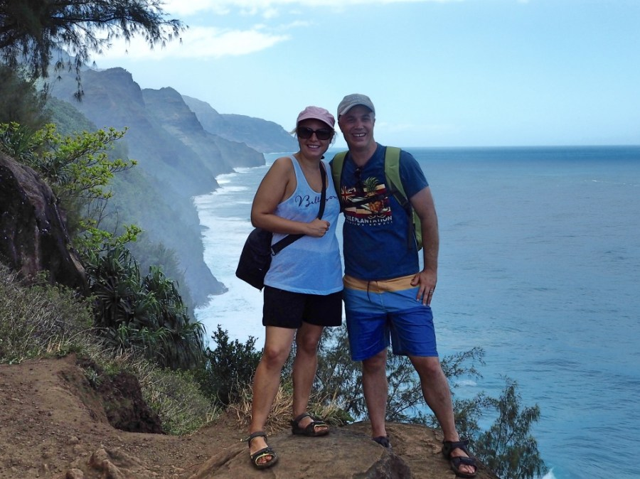 Exploring the Napali Coast in Maui, Hawaii