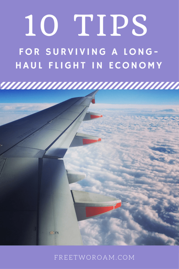 10 Tips for surviving a long-haul flight in economy