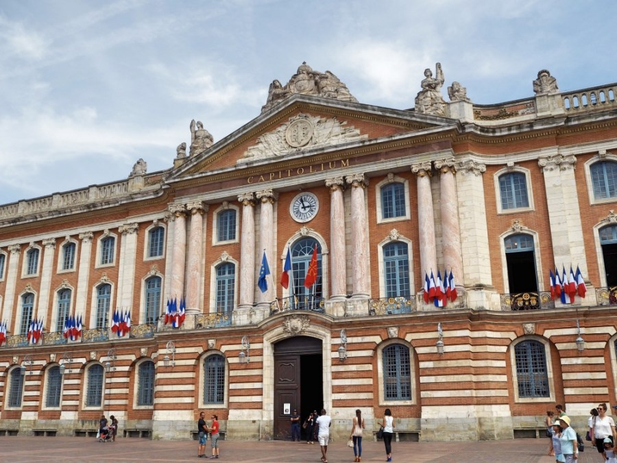The Capitole, Toulouse's City Hall.