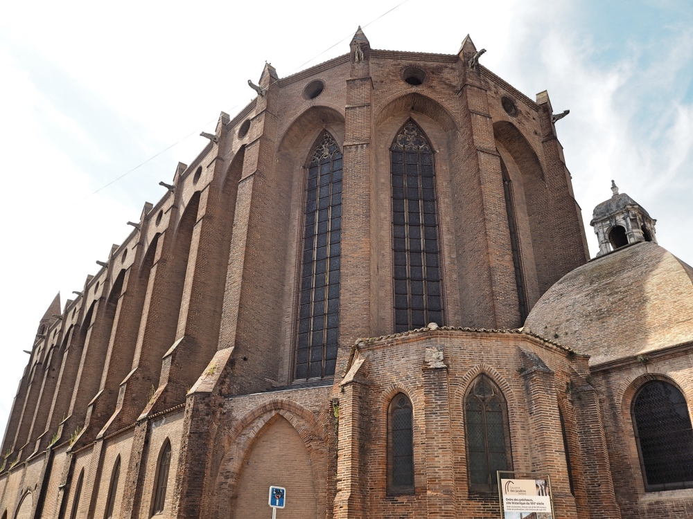 The outside of the Couvent des Jacobins.