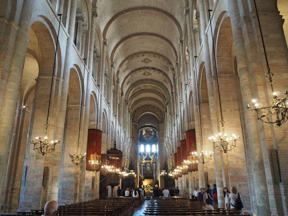 Inside the basilique.