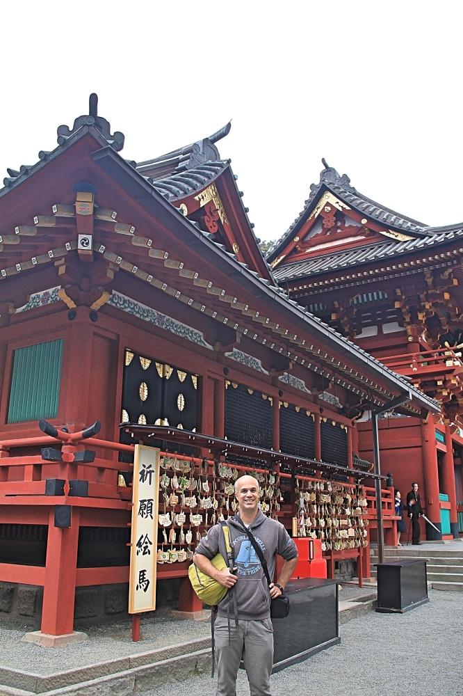 Tsurugaoka Hachiman-gu's main temple.