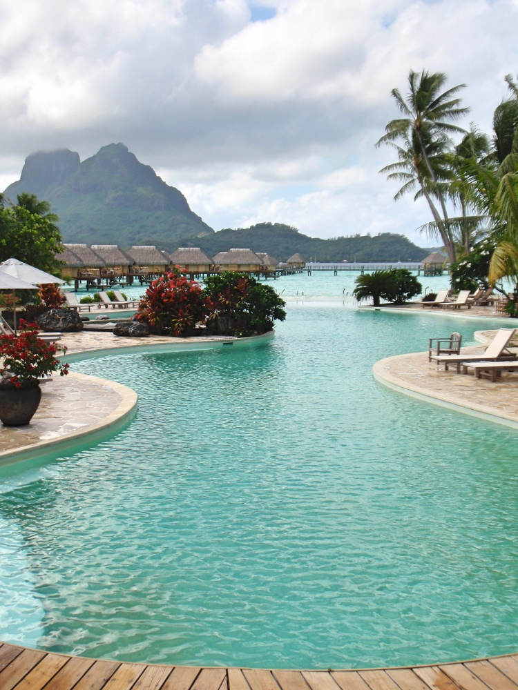 View from the infinity pool!
