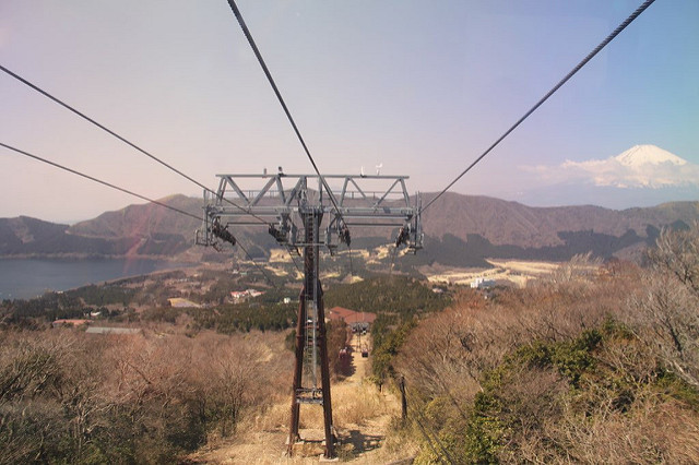 View from the ropeway.