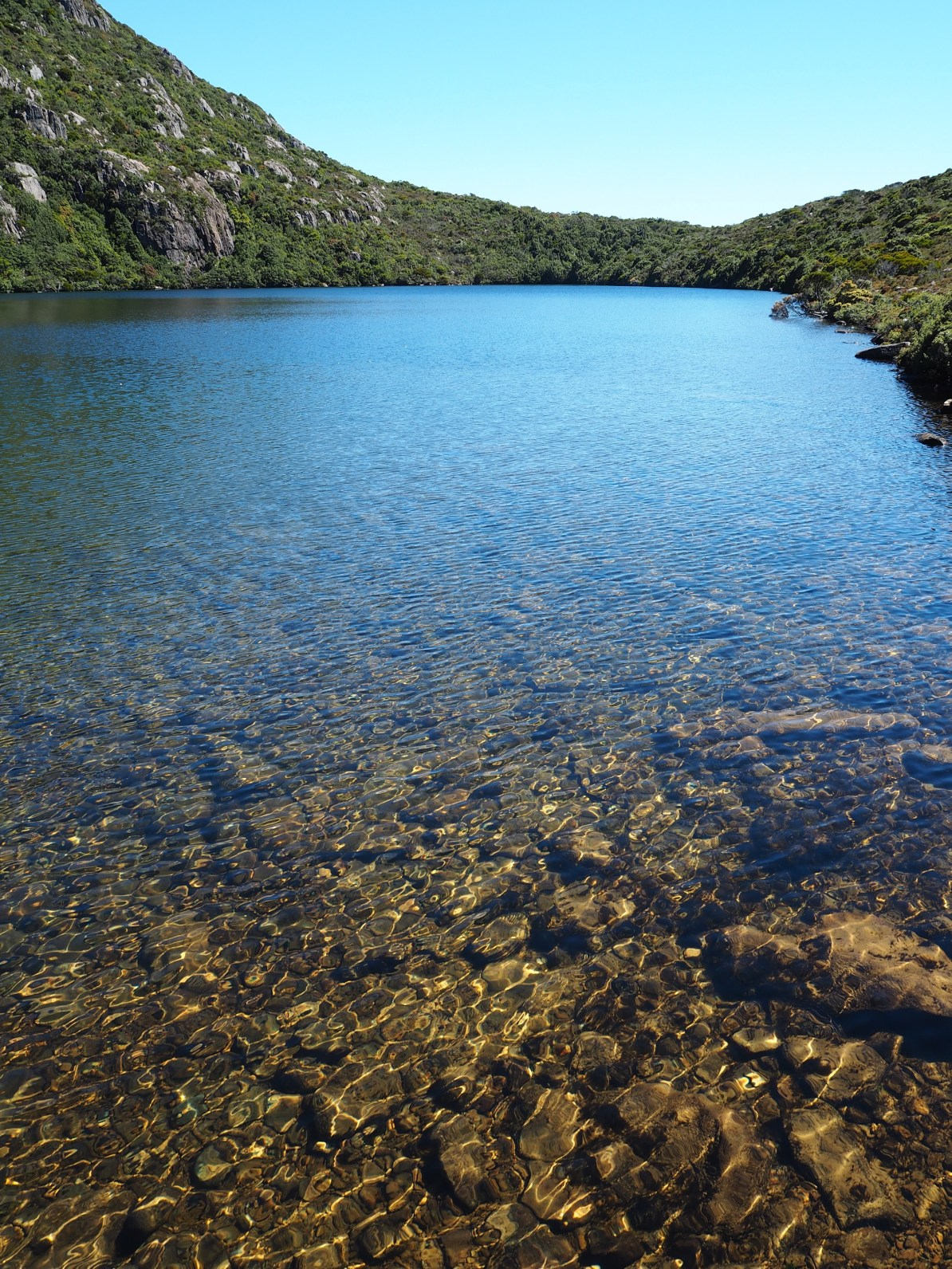 The beautiful Emerald Lake.