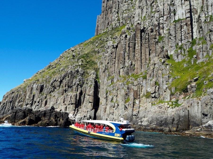 The Tasman Peninsula cruise.