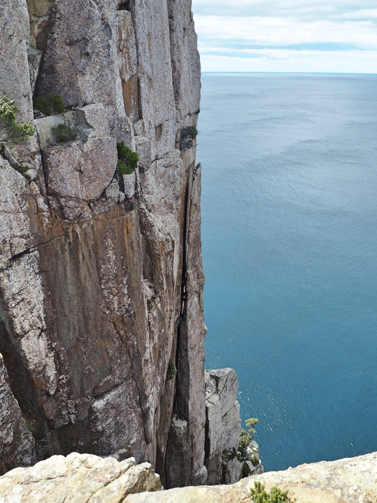 Scary cliff!
