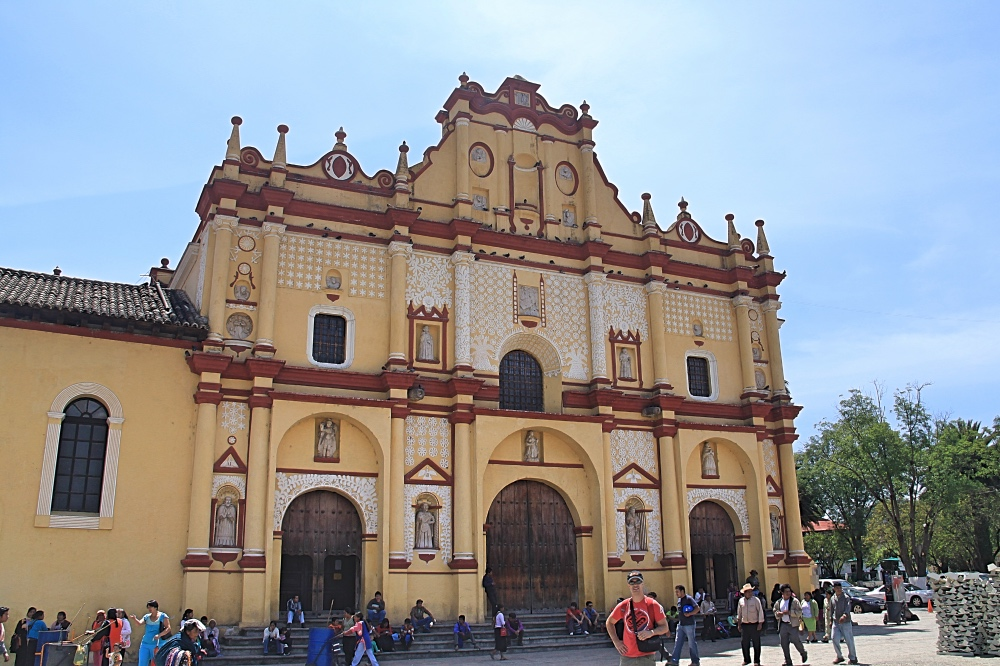 The Cathedral of San Cristobal de Las Casas