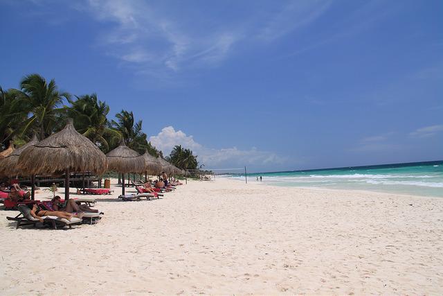 Beach paradise!