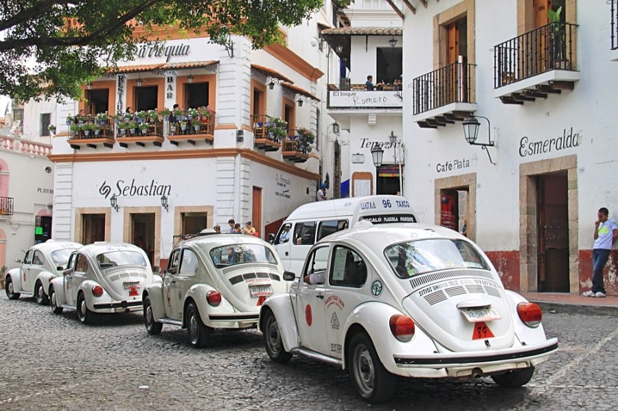 The white taxis of Taxco.