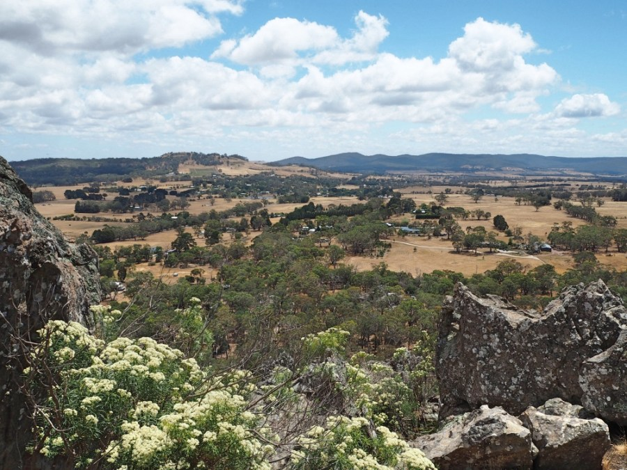 Great view of the Macedon Ranges.