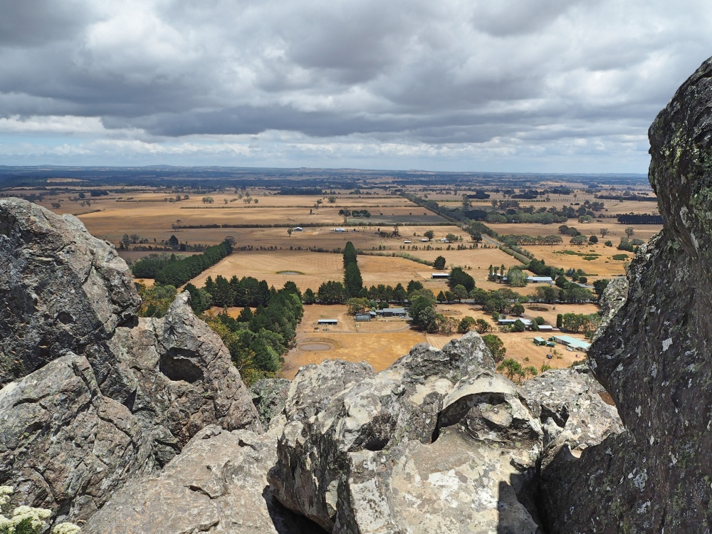 View from the top of Hanging Rock.